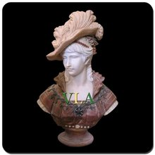 customize stone lady bust statue VBS-058