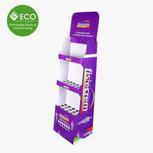 Drugstore Pharmacy Paper Cardboard Display Stands For Tablet