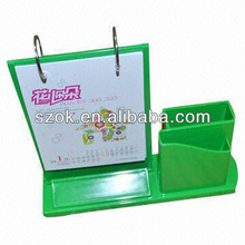 acrylic colored desktop funny customized photo frame pen holder