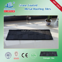 SONCAP, ISO colorful stone coated metal roofing shingles