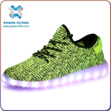 Summer Cheap Children Kids LED Shoes kids Yeezy Boost 350 Shoes Wholesale Quality Choice Most Popular
