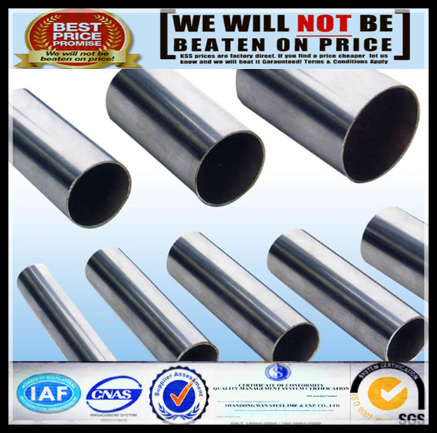 ASTM A790 UNS S31803 good price super duplex stainless steel pipe