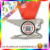 Zinc alloy die casting 3D sports award medal with ribbon