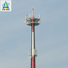 Self- support tubular steel telecommunication monopole tower