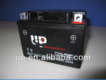 Maintenance Free Motorcycle Battery 12v3ah
