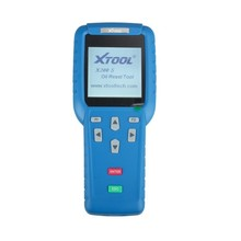 High Quality Blue XTOOL Oil Reset Tool X-200 X200 OBD2 Code Reader Update Online Airbag reset Tools