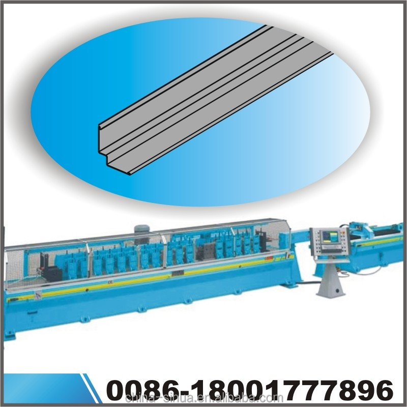 Ceiling t grid automatic metal stud machine ceiling t bar