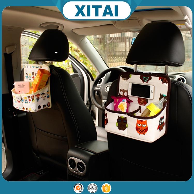 Venta al por mayor xitai interior del coche accesorios lindo coche bolsillo de la mochila de - Accesorios coche interior ...