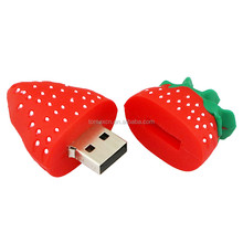 Gifts usb 4GB 8GB 16GB 32GB 64GB strawberry Usb Flash Drive Pendrive Free Shipping