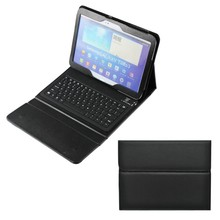 Wireless Bluetooth Keyboard Premium PU Leather Case For Samsung Galaxy Tab 3 10.1""