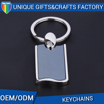 wholesale custom blank disc tassel key chains with logo