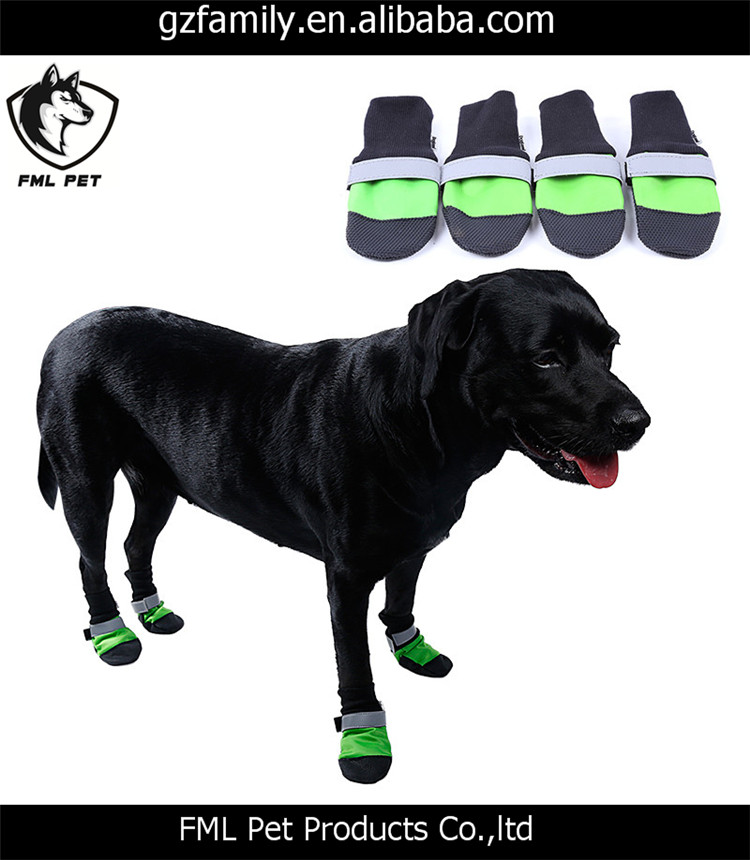 Light Pet Dog Shoes 4 pcs For Small Medium Large Dogs XS-XL Dog Boots