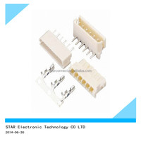 High quality pins electronic connector wire to board right angle
