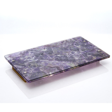 China Manufacture High Class Agate Custom Metal Tray