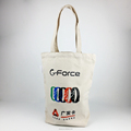 custom high quality printed canvas tote bag shopping bag