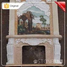 Hot China Products Wholesale Kmart Electric Fireplace Marble Slab Decoration