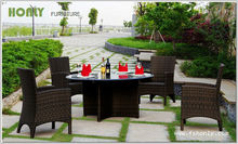 Glass dining table designs round dining table set
