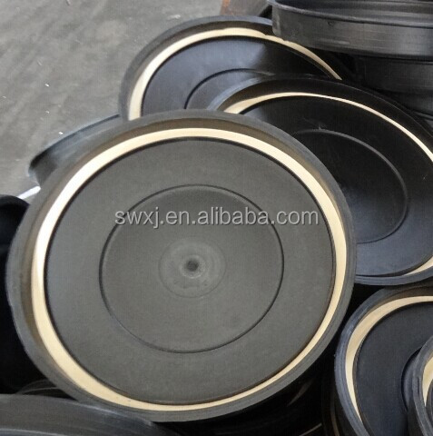 Soft rubber ring gasket for plastic drums and metal drums