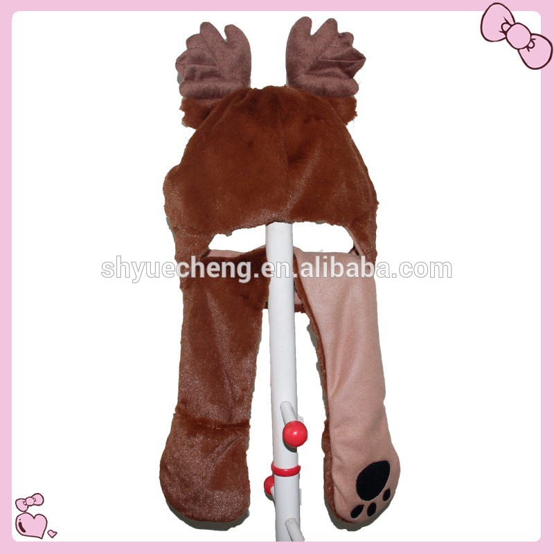 hot sale & high quality make animal hat of good service