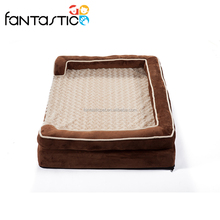 Hot-selling dog cushion pet bed dog square shape bed