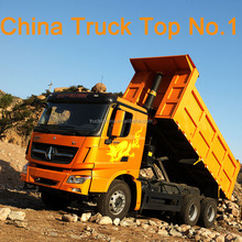 China truck No.1 Beiben V3 6x4 dump truck