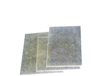 Thick thermal insulation muscovite mica board