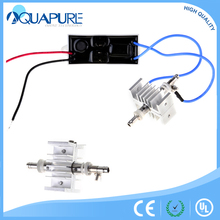 Super high frequency ozone plates electrode quartz 12v ozone