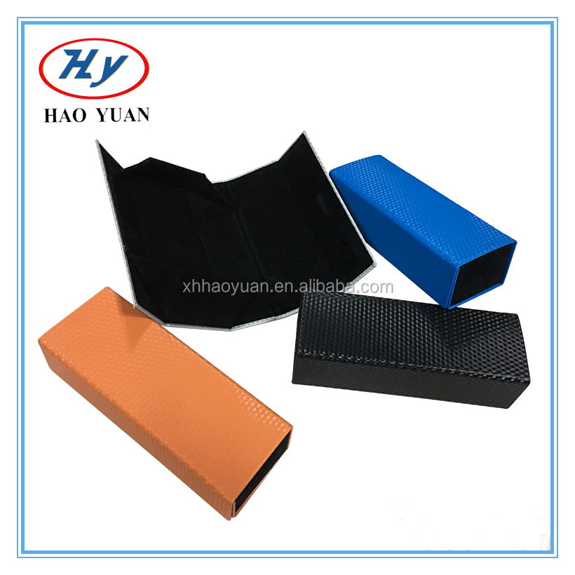 handamde folded eyeglasses case