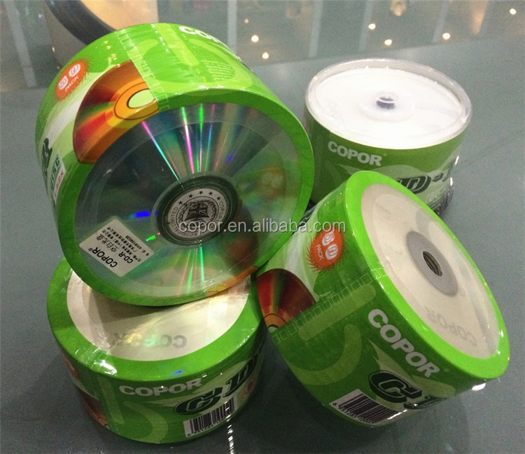 CD-R with logo and data in bulk by dongguan suppliers in good price