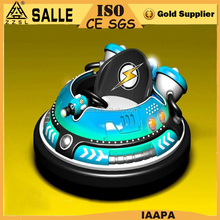Amusement Park Kids Ride Used Stainless Steel Inflatable Electric Bumper Car