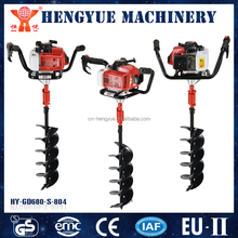 GD-680-S-804 agricultural digging tools/digging machine hole/gas powered post hole digger earth auger