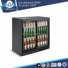 SC228 Back bar commercial under counter beer refrigerator with CE ROHS