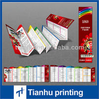 fancy product catalog leaflet printing service