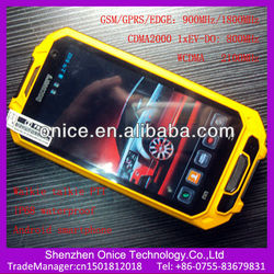 Cdma gsm android mobile phone A8 ip68 mobile phone with walkie talkie 4.5 inch 540*960pixel WCDMA and CDMA2000 dual standby