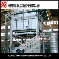 Chinese machinery Aluminum alloy vertical type industrial furnace