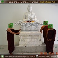 Marble Carved Large Stone Buddha Statues for Sale