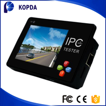 "Portable Wrist 3.5"" Touch LCD Monitor IP Network Analog CCTV Camera Tester Built in WIFI / PTZ Control"