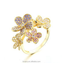 Wedding Rings Catalogue New Design Gold Finger Ring Lead And Nickel Safe Alloy Fashion Jewelry Sets