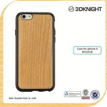Cell Phone Accessory PC Phone Case for iPhone 6s, 2015 New Arrival for iPhone 6 Bamboo Wood Case