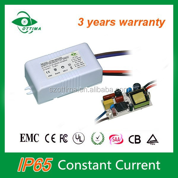 led power supply 10W for led Flood Light 300mA driver with CE certification