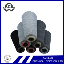 Ring Spun Technics Recycled Industrial Yarn Textile Yarn Polyester Spun Yarn