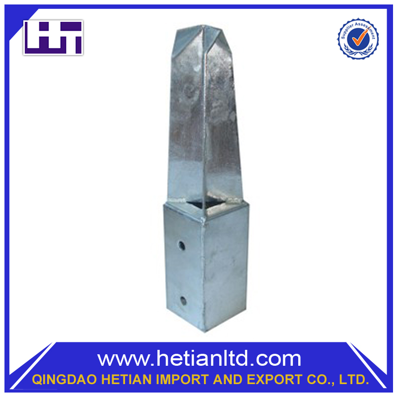 China Hot Dipped Customized Galvanized Screw Helix Ground Concrete Pole Anchor