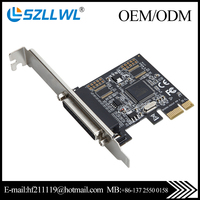 PCI-E Parallel Card to 25Pin Printer LPT Port express adapters card