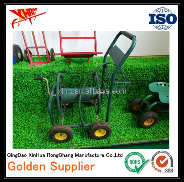 tools and equipment cart for the garden and fields for watering