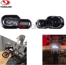 LED Headlight hig low beam fit B MW Motorcycle F800GS F700GS headlight Adventure