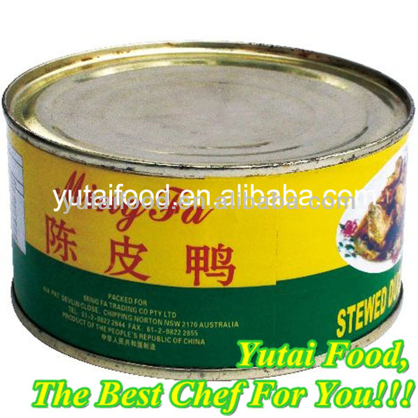 Canned Stewed Duck with Orange Peel Duck Meat Prices