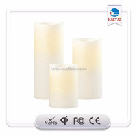 wholesale 7 day religious cylinder glass candles/church votive candle