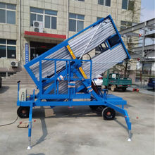 Aluminum alloy lifting platform,motorized ,mobile lift table
