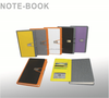 Leather Cover Office School Notebook With