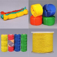PE TWIST ROPE/plastic rope/marine rope with competitive price and high quality